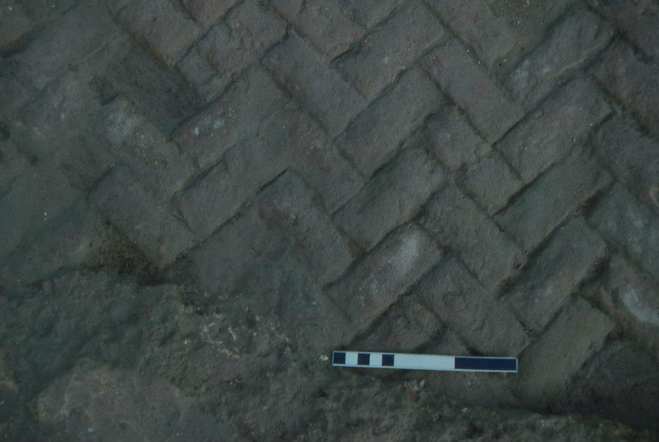 Detalle piso del molino del Matadero