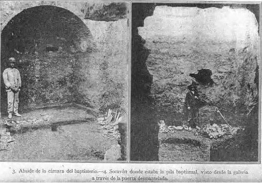 El Tío Toleo en la cripta