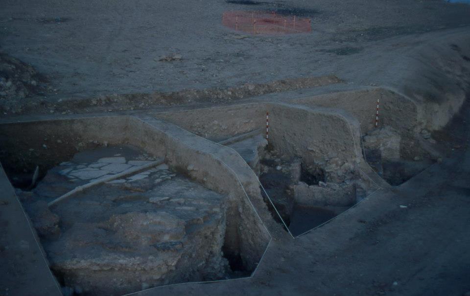 Restos arqueologicos del molino del Matadero