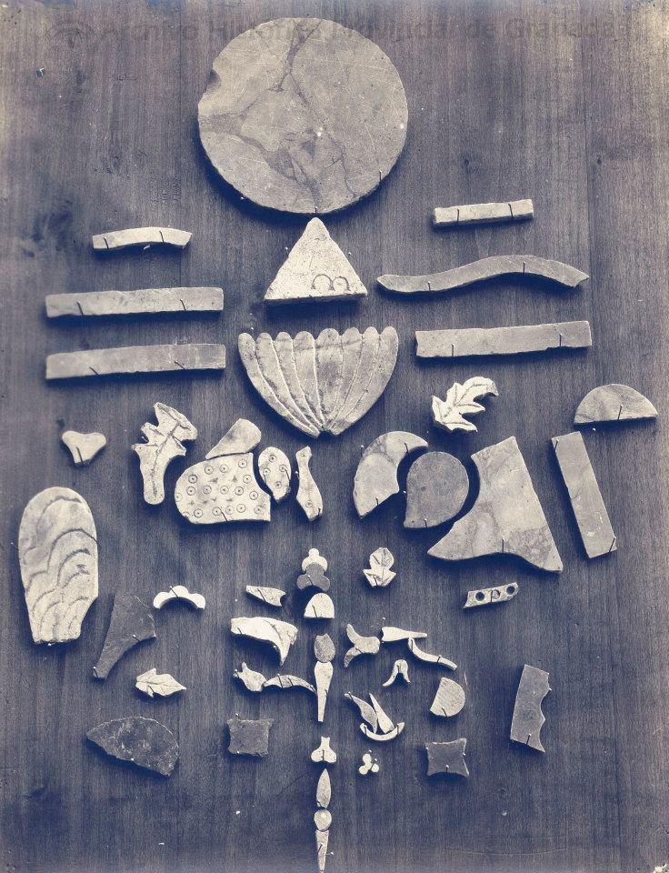 Restos marmoreos de la Mina Toleo 1