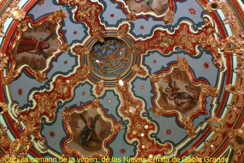 Cupula del camarin de la Virgen