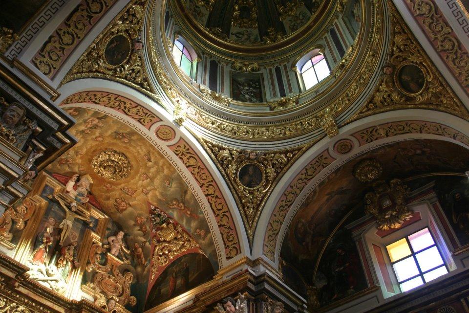 Detalle decoración de la Ermita de Gabia