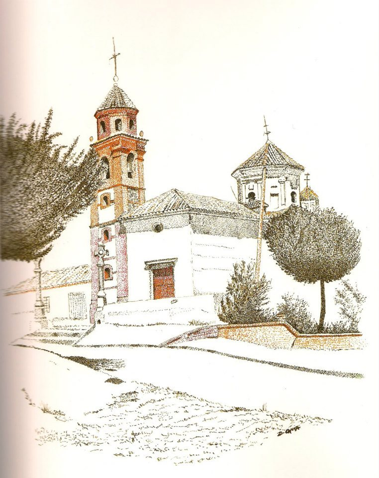 Dibujo de Rafael Guerra Ermita