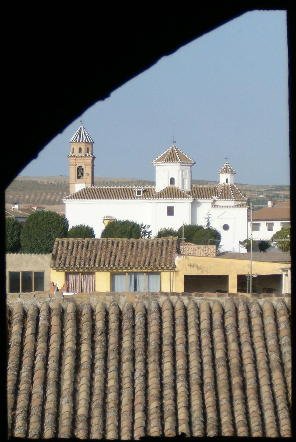 La Ermita desde la ventana del Torreón