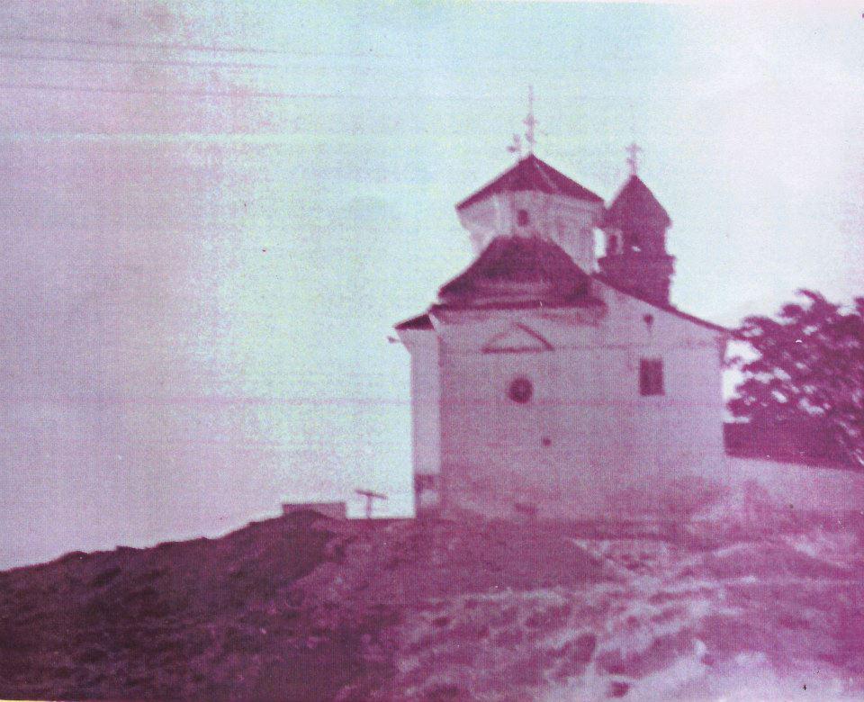 La Ermita desde la parte posterior
