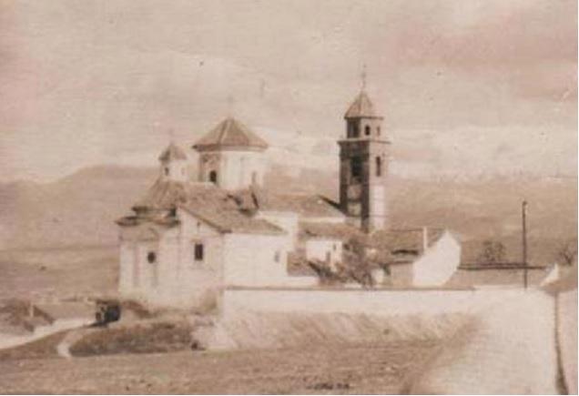 La ermita de Gabia Grande desde el oeste